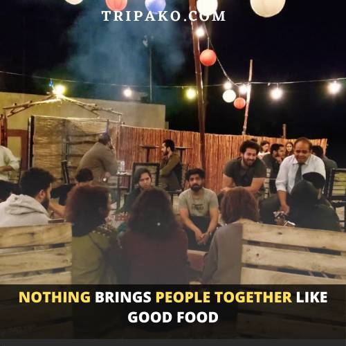 Secret Sky is another prefect place among Top 10 restaurants in Lahore to to enjoy food under  the sky